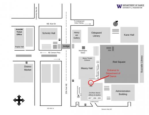 Contact   Department of Dance   University of Washington on