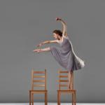 """Laura Halm in Zvi Gotheiner's """"Chairs"""""""