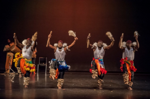 Gansango Dance Company performing on stage