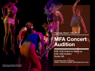 MFA Dance Concert Audition