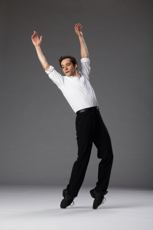 Pablo Piantino in The Fugue by Twyla Tharp