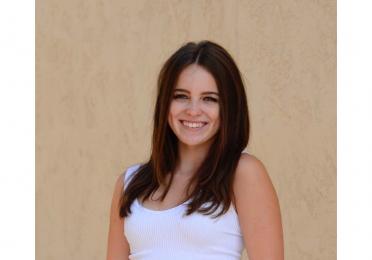Natalie Hoffman smiles
