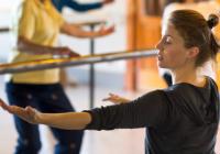 Corrie teaching dance class