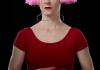 Carnation by Lucinda Childs. Dancer: Leslie Kraus