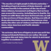 white text on purple with gold UW logo