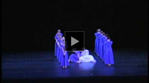 YouTube link to Chamber Dance Company: Selection from Martha Graham's